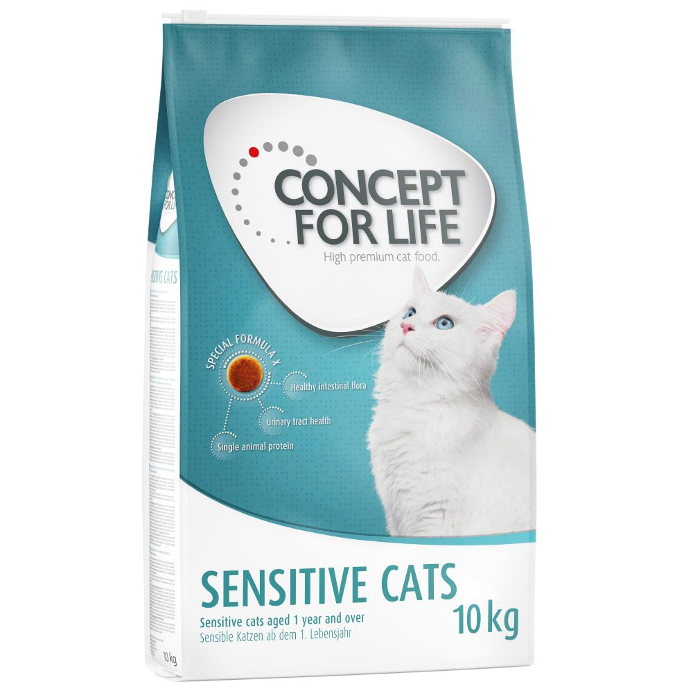 Sensitive Cats Concept for Life Dry Cat Food