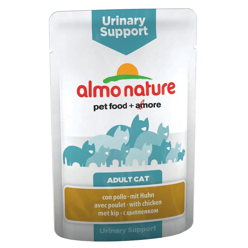 Almo Nature Urinary Support, 6 x 70 g - Kurczak