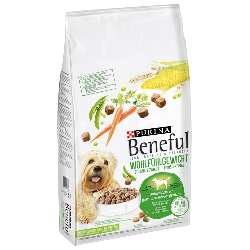Beneful Healthy Weight - Ekonomipack: 2 x 12 kg