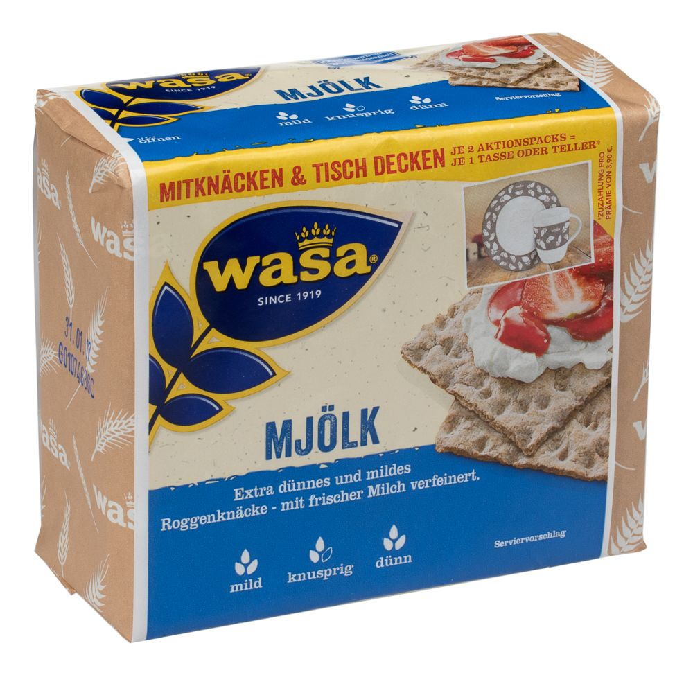 Image of Wasa Mjölk - 230 g