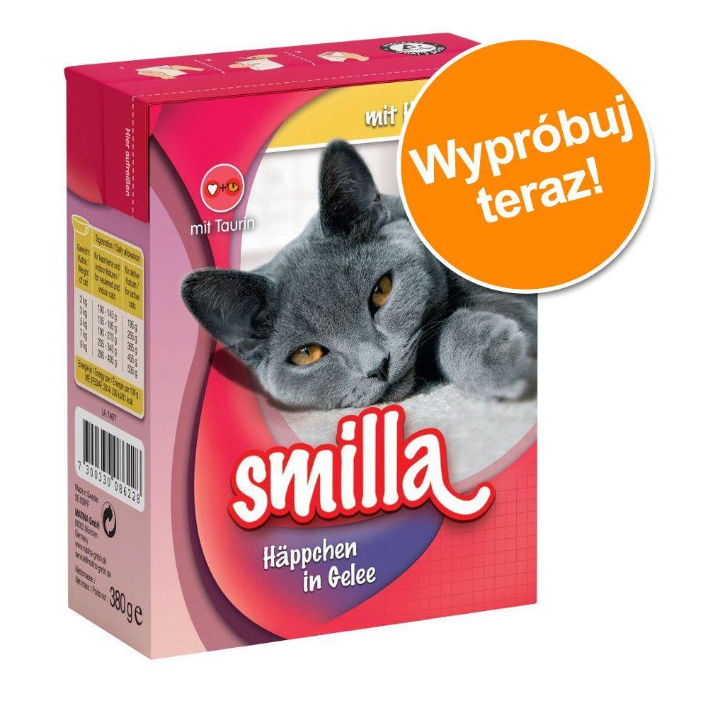 Pakiet próbny Smilla kawałeczki w sosie i galarecie, 1 x 370 | 380 g - Wołowina w sosie