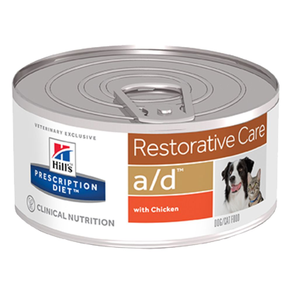 Hill's Prescription Diet a/d Restorative Care Chicken hund- och kattmat - 12 x 156 g