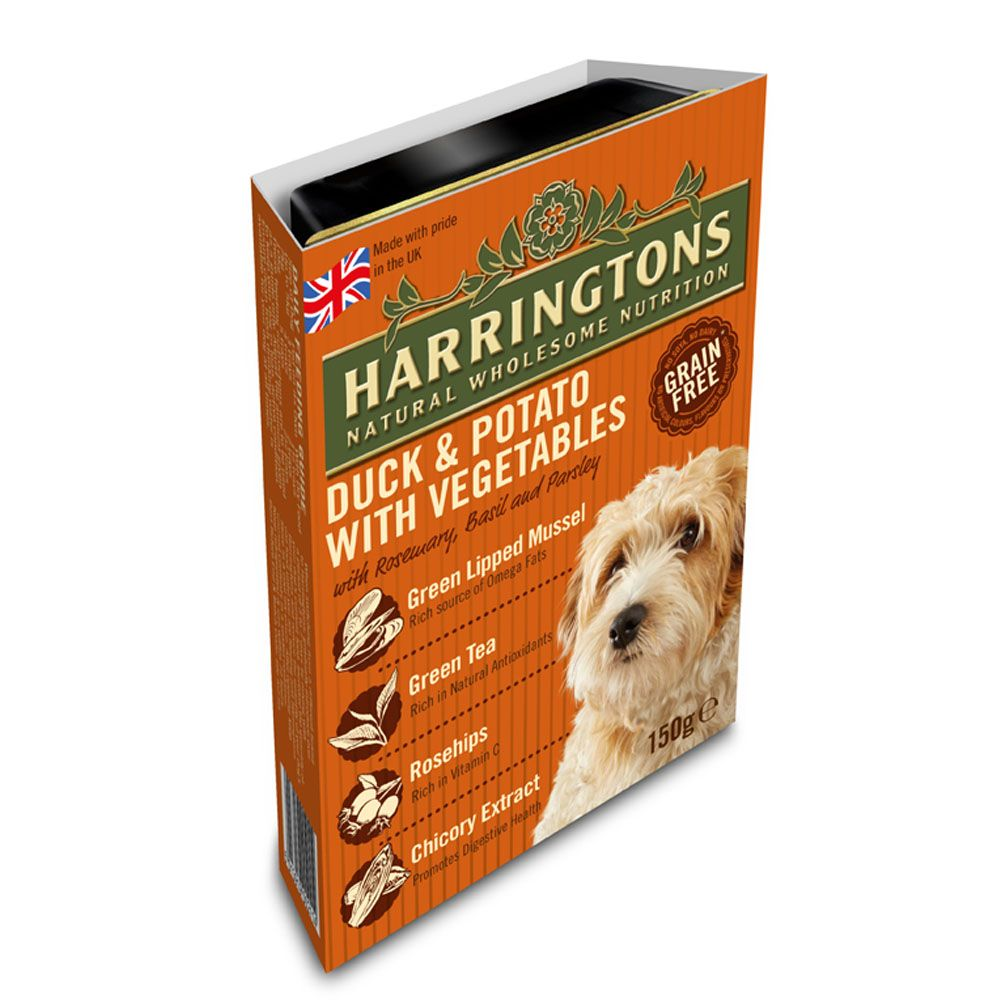 Harringtons Complete Adult Dog - Duck & Potato - Saver Pack: 24 x 400g