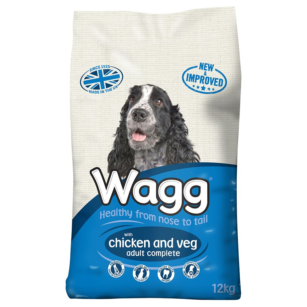 Large Bags Wagg Dry Dog Food + 7 x Wagg Dog Treats Free