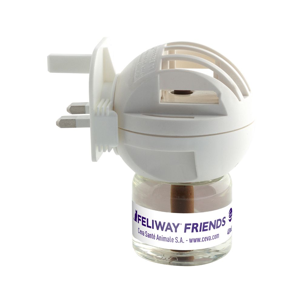 Diffuser & 48ml Vial Feliway Friends