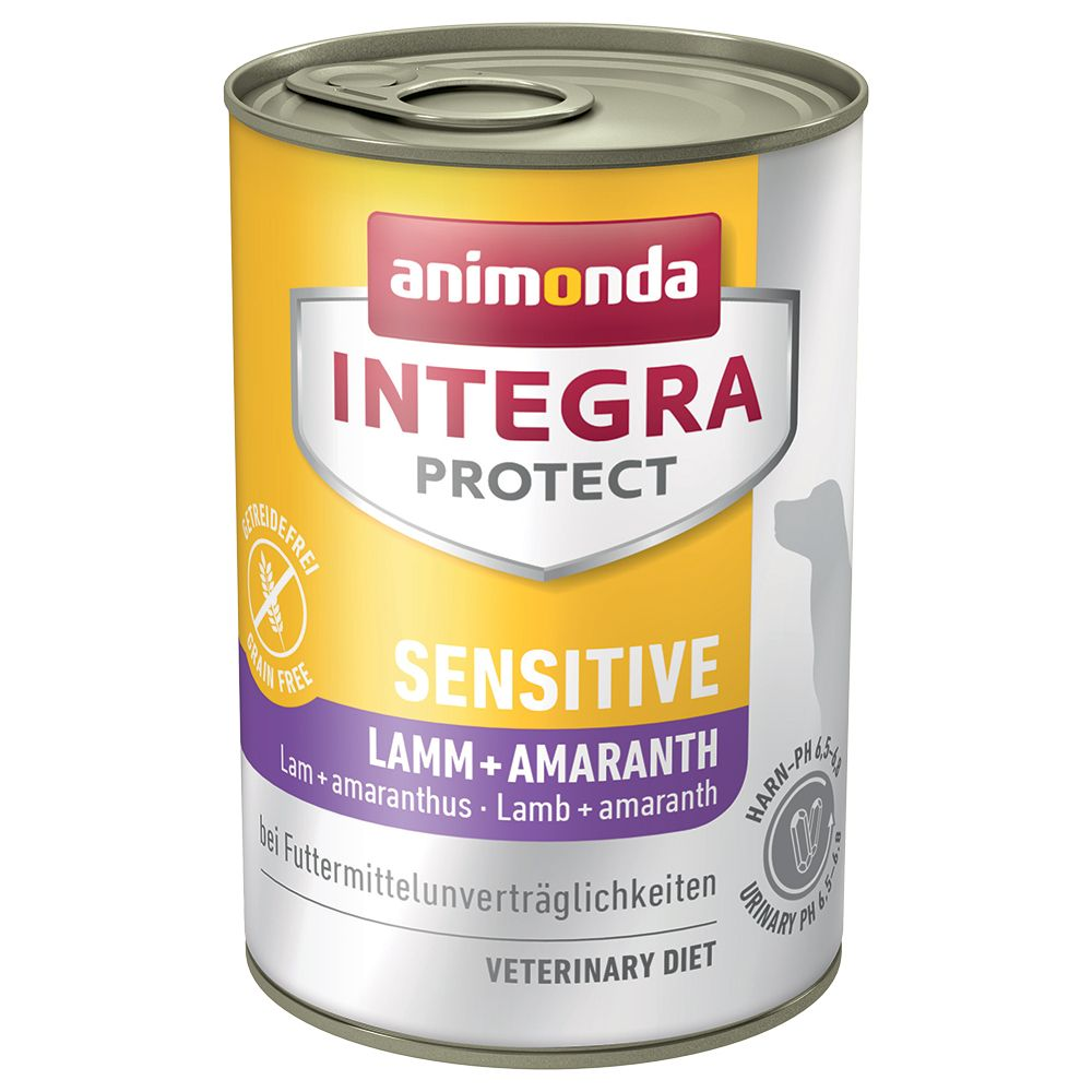 6x400g Sensitive Lamb & Amaranth Animonda Integra Protect Wet Dog Food