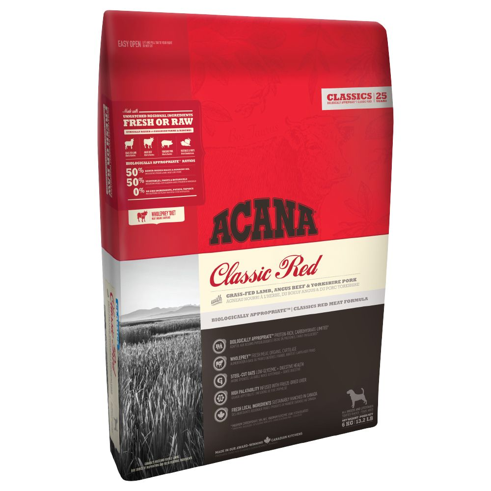Acana Classic Red Dry Dog Food - 6kg