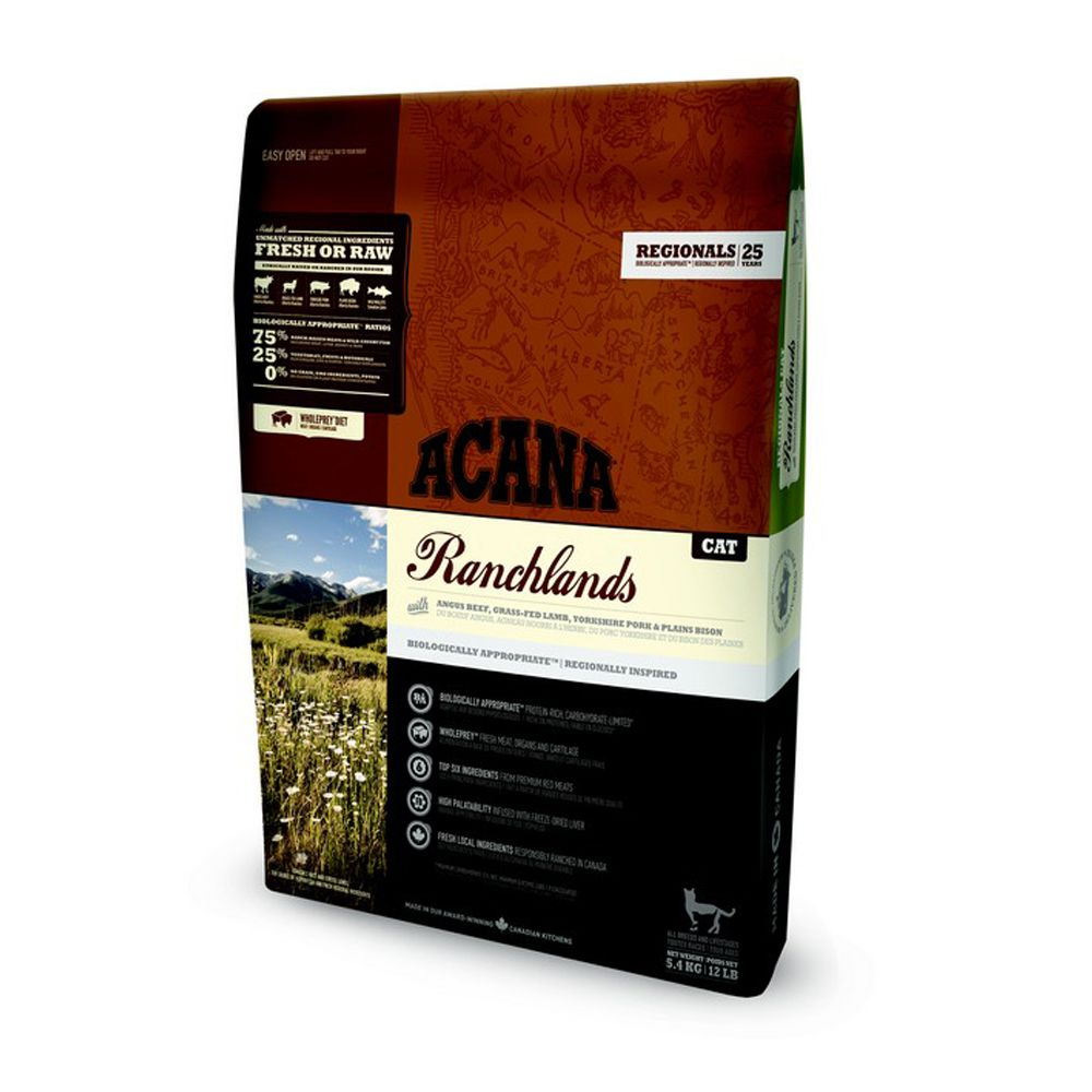 Acana Regionals Ranchlands Dry Cat Food - Farmlands