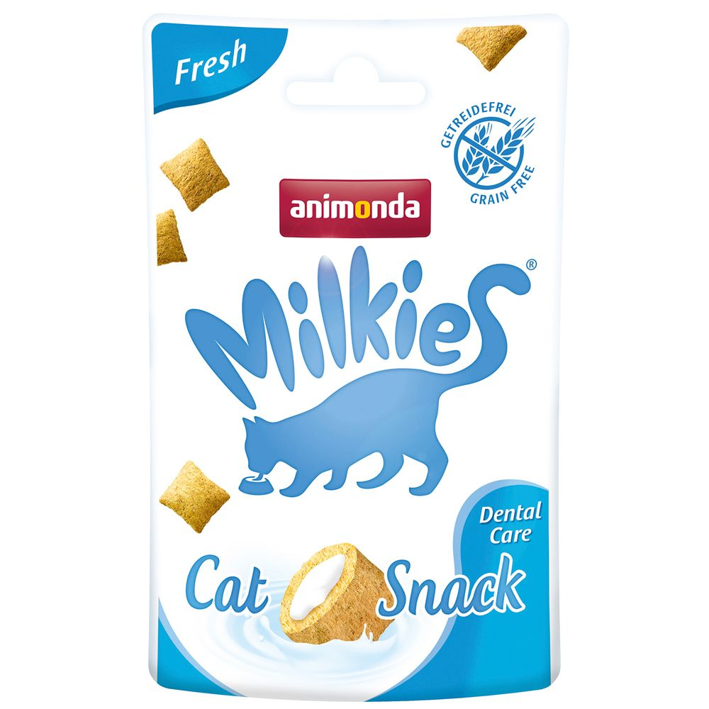 Animonda Milkies Knuspertaschen Fresh - Dental ...