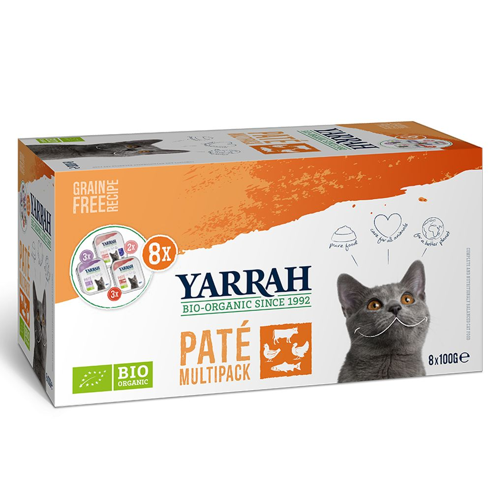 Mixed Pack Yarrah Organic Wellness Wet Cat Food
