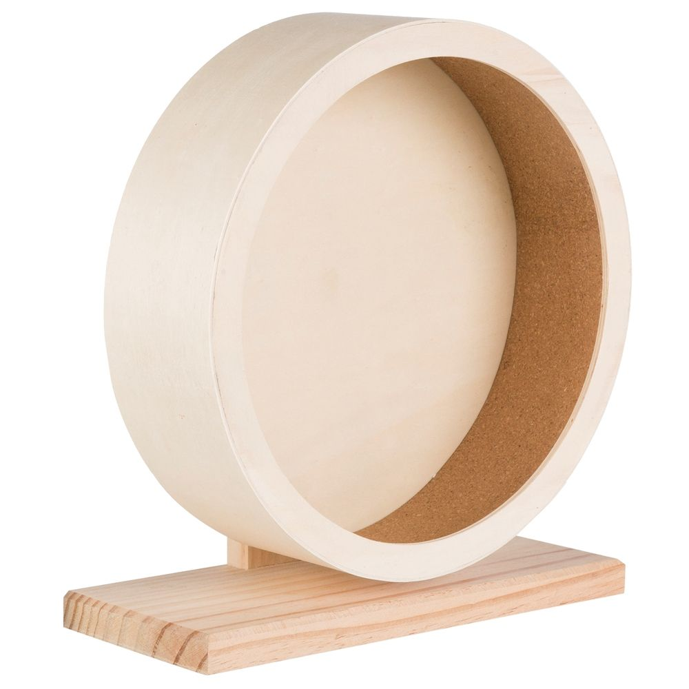 Trixie Wooden Exercise Wheel Diameter 28cm x 8cm