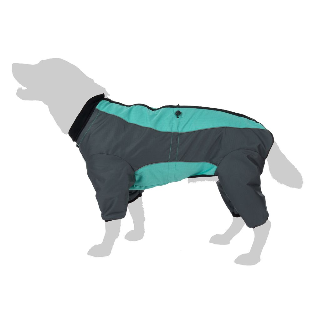 Hundeoverall Mint - ca. 40 cm Rückenlänge (Größe XL)