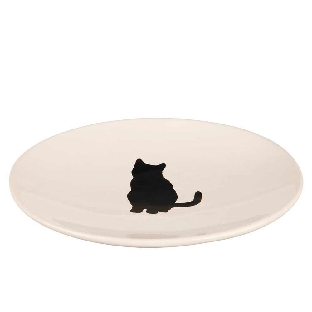 Trixie Oval Ceramic Bowl for Cats of all Ages
