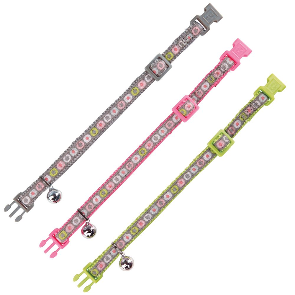 Trixie Spring nylonhalsband – Olika färger
