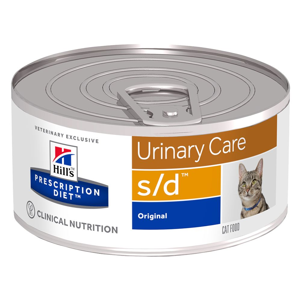 Urinary Care Cans Feline Hill's Prescription Diet Wet Cat Food