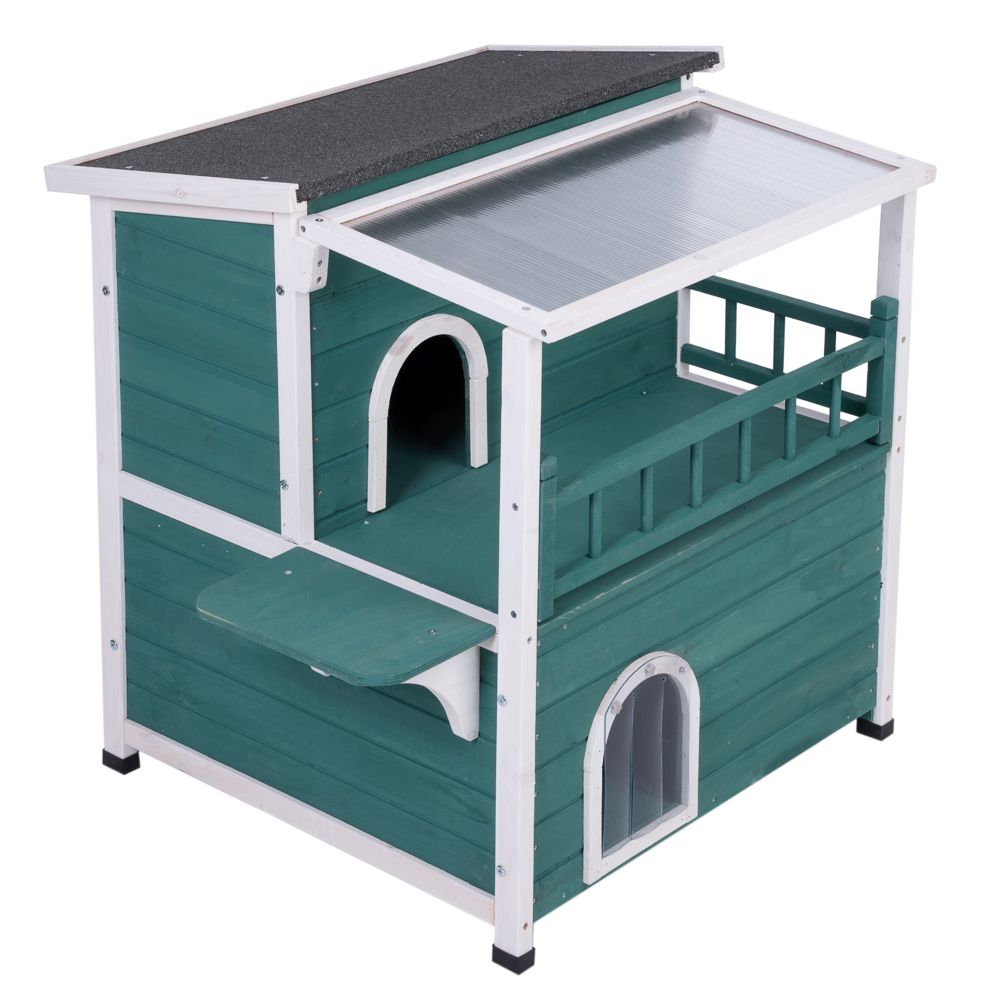 Cat House with Sunroof