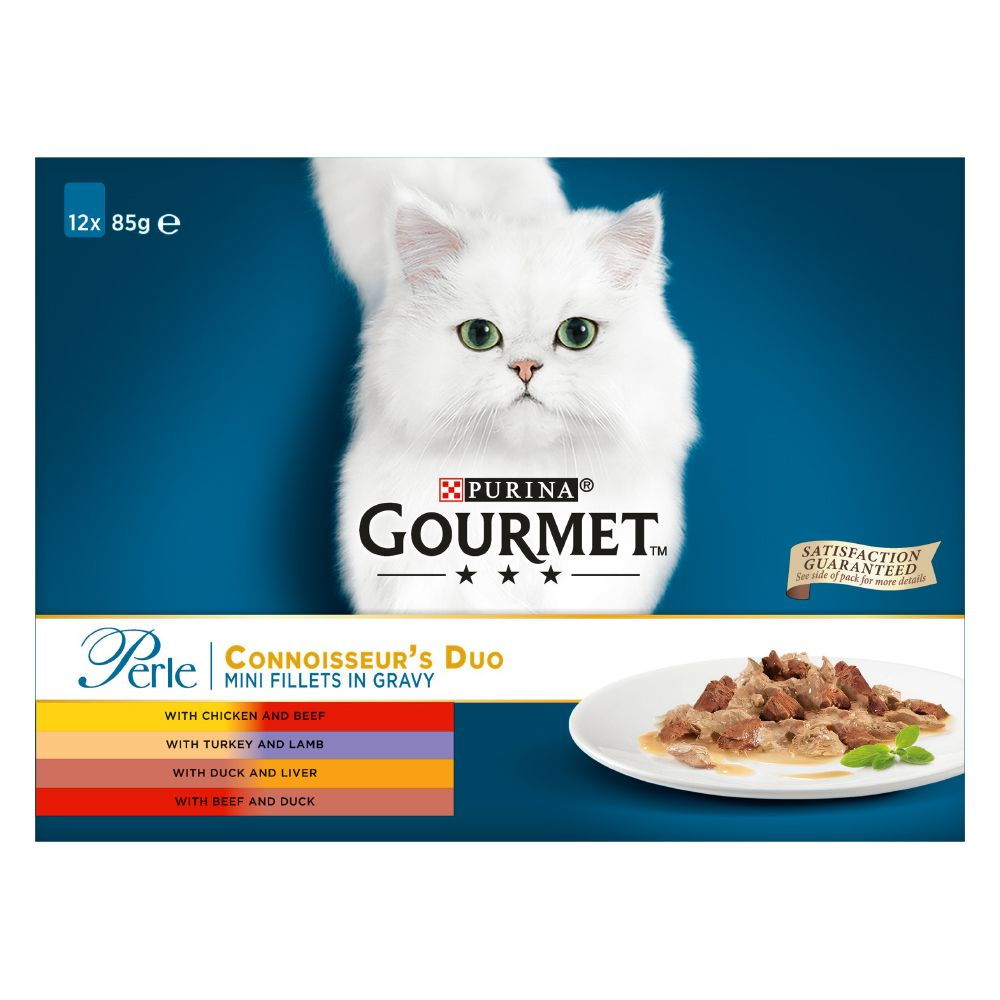 60 x 85g Gourmet Perle Pouches Mixed Pack