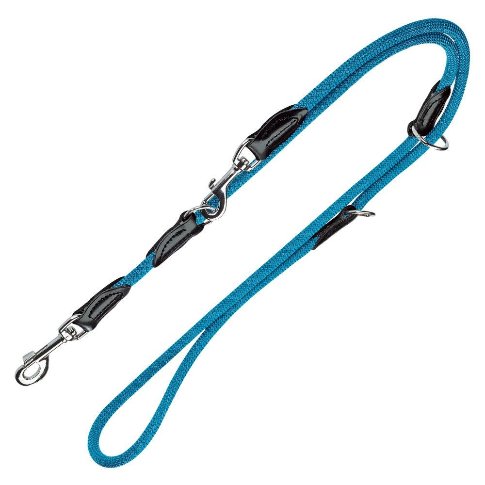 Hunter Freestyle Adjustable Lead - Petrol Blue