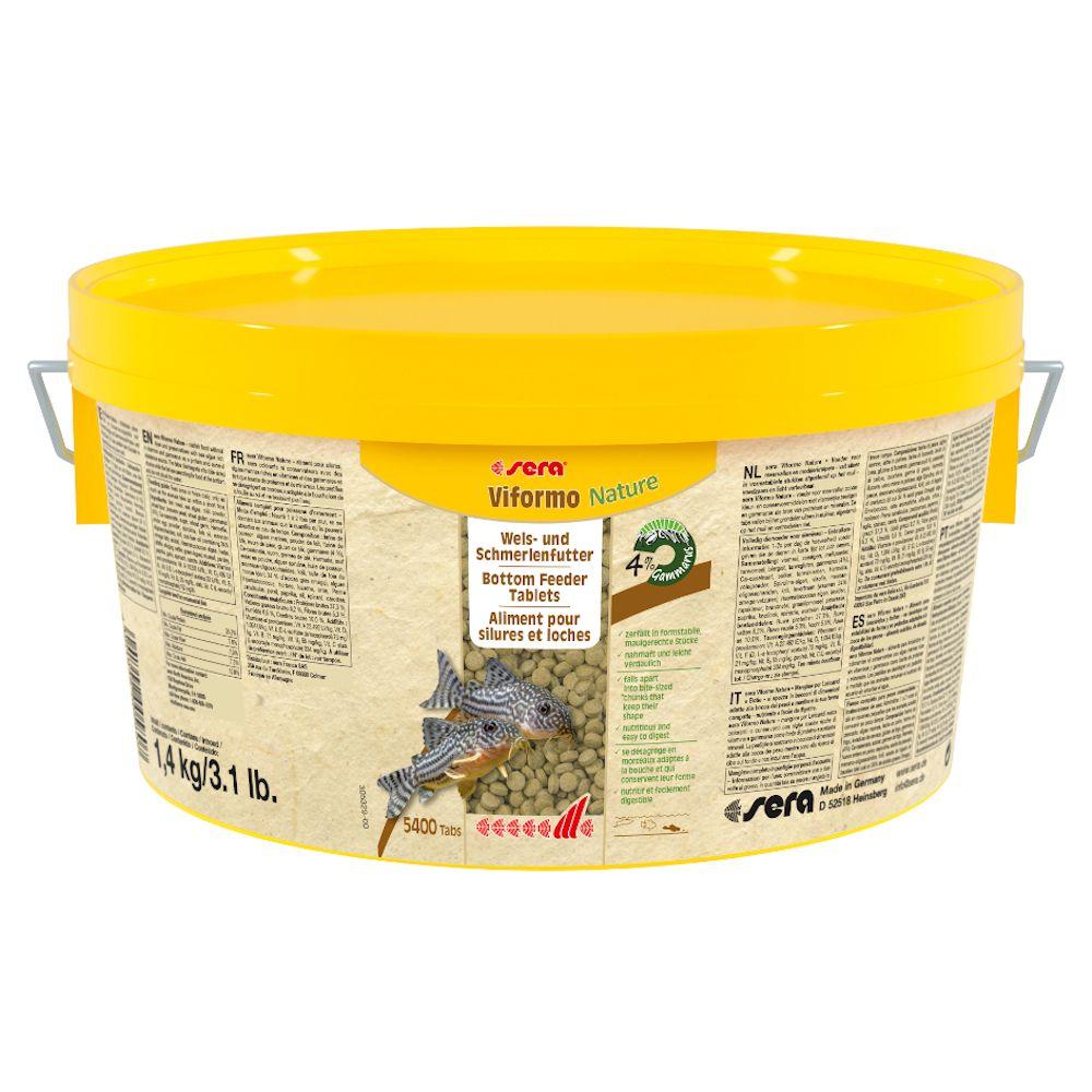 sera Viformo Nature Futtertabletten - Sparpaket: 2 x 1,4 kg