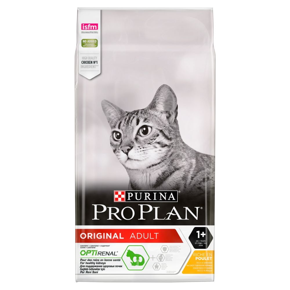 Rich in Chicken Optirenal Original Adult Pro Plan Purina Dry Cat Food