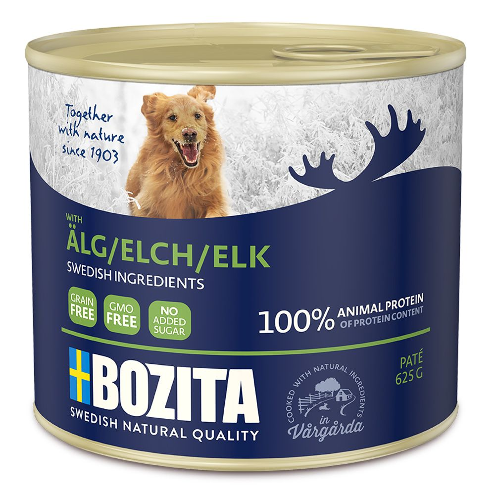 Bozita Naturals Pate - Wet Dog Food