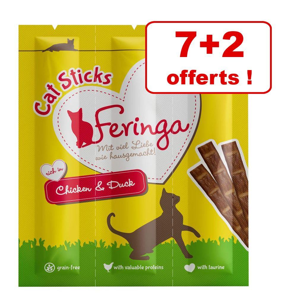 Bâtonnets Feringa pour chat : 7 + 2 offerts