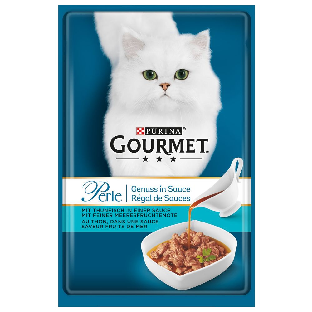 Salmon Gravy Delight Gourmet Perle Adult Wet Cat Food