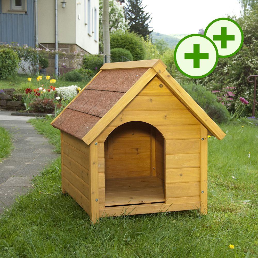 Foto Cuccia per cani Spike Standard - L77 x P54 x H67 cm zooplus Exclusive Con tetto a spioventi