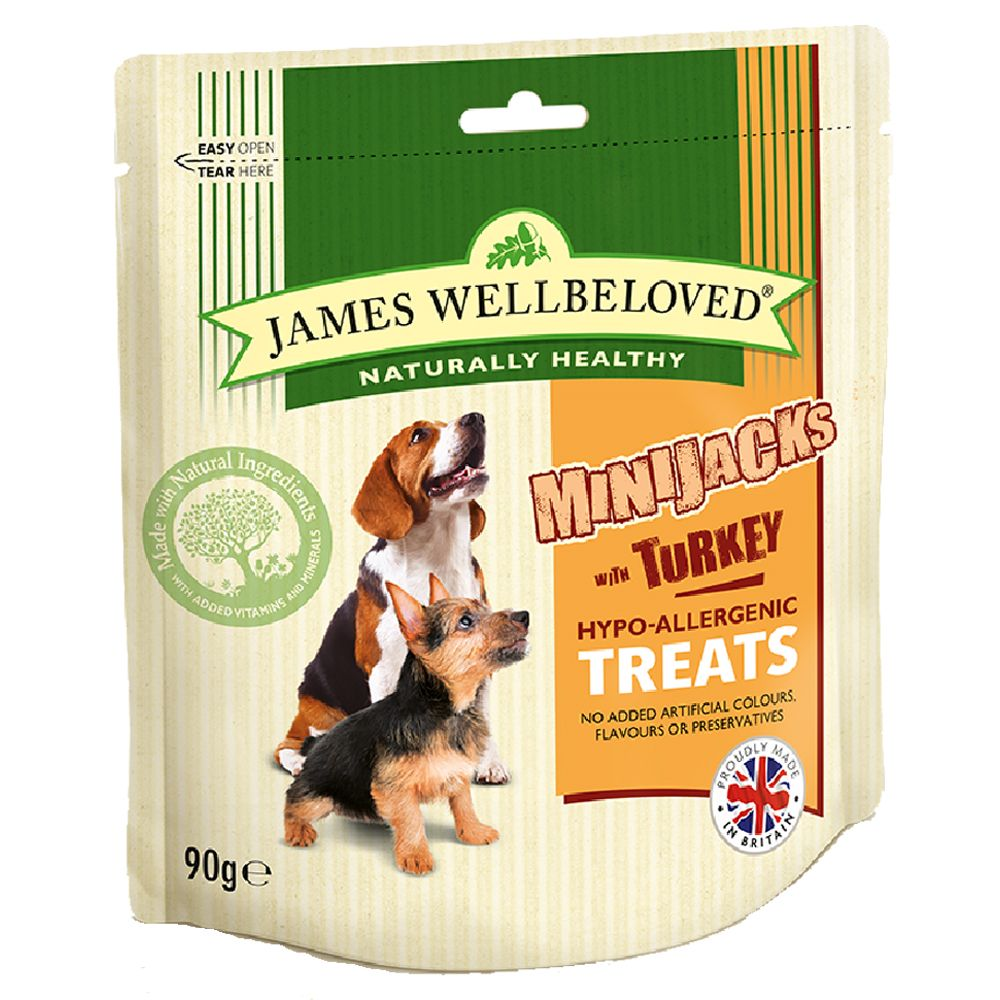 Turkey MiniJacks James Wellbeloved Dog Treats
