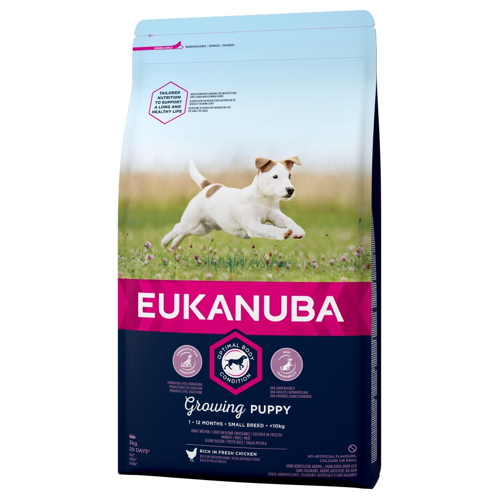 Small Breed Growing Puppy Food Eukanuba Dry Dog Food