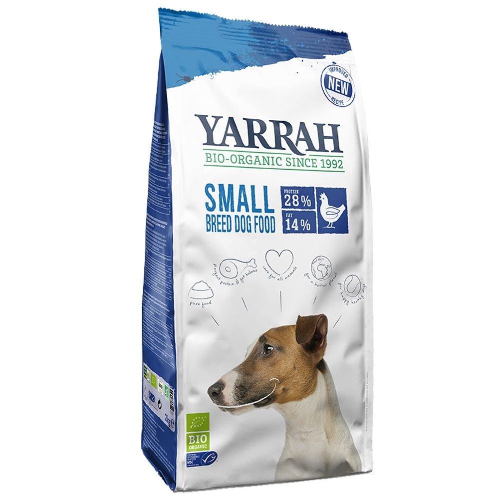 5kg Bio Small Breed Huhn Yarrah Hundefutter trocken 8714265975400