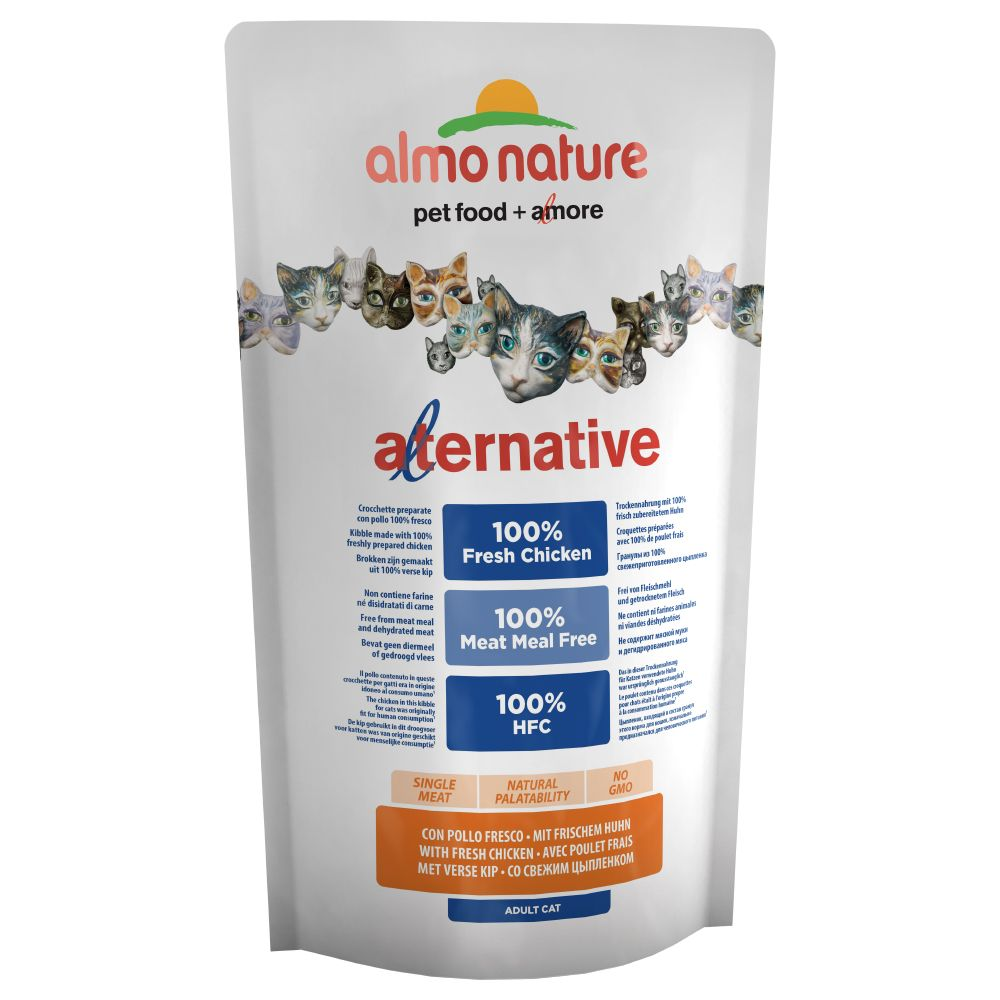 Bilde av Almo Nature Hfc Alternative Cat - Med Fersk Kylling - 3 X 2 Kg