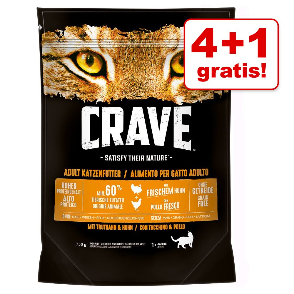 Image of Crave Adult Cat con Salmone & Pesce bianco - 750 g