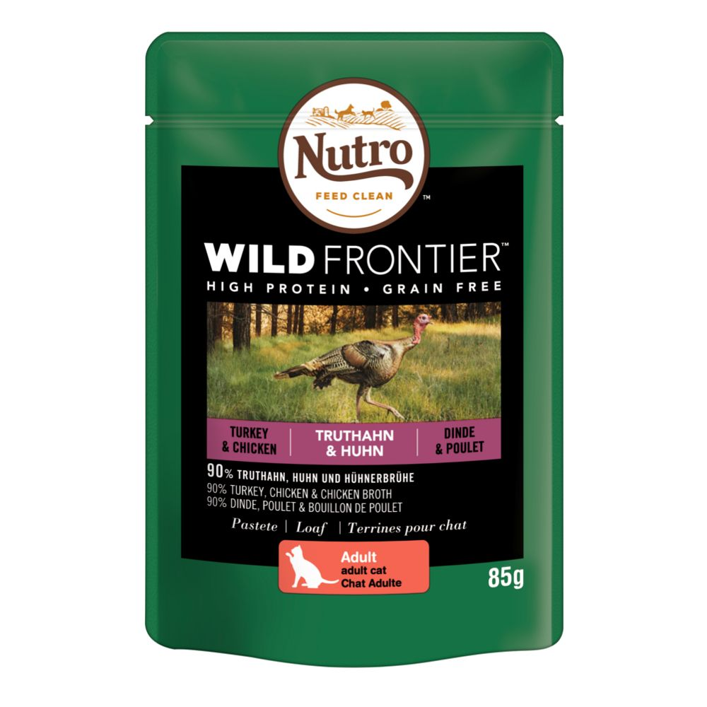 Nutro Wild Frontier Wet Cat Food 24 x 85g
