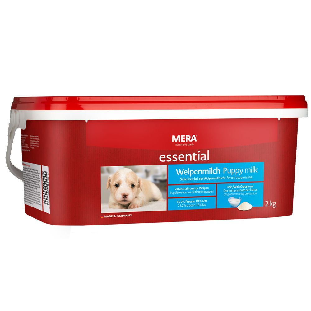 MERA essential Puppy Milk - valpmjölk Ekonomipack: 2 x 2 kg