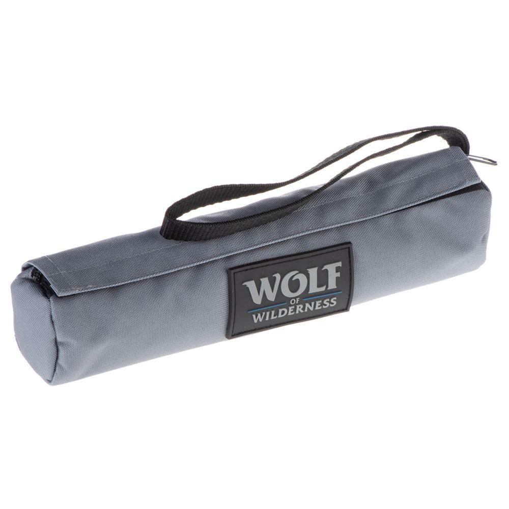 2 training dummy dog toys Wolf of Wilderness