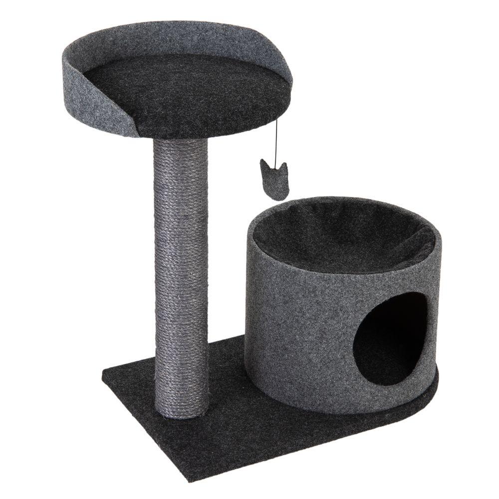 Piccolo klösträd - Grå / svart