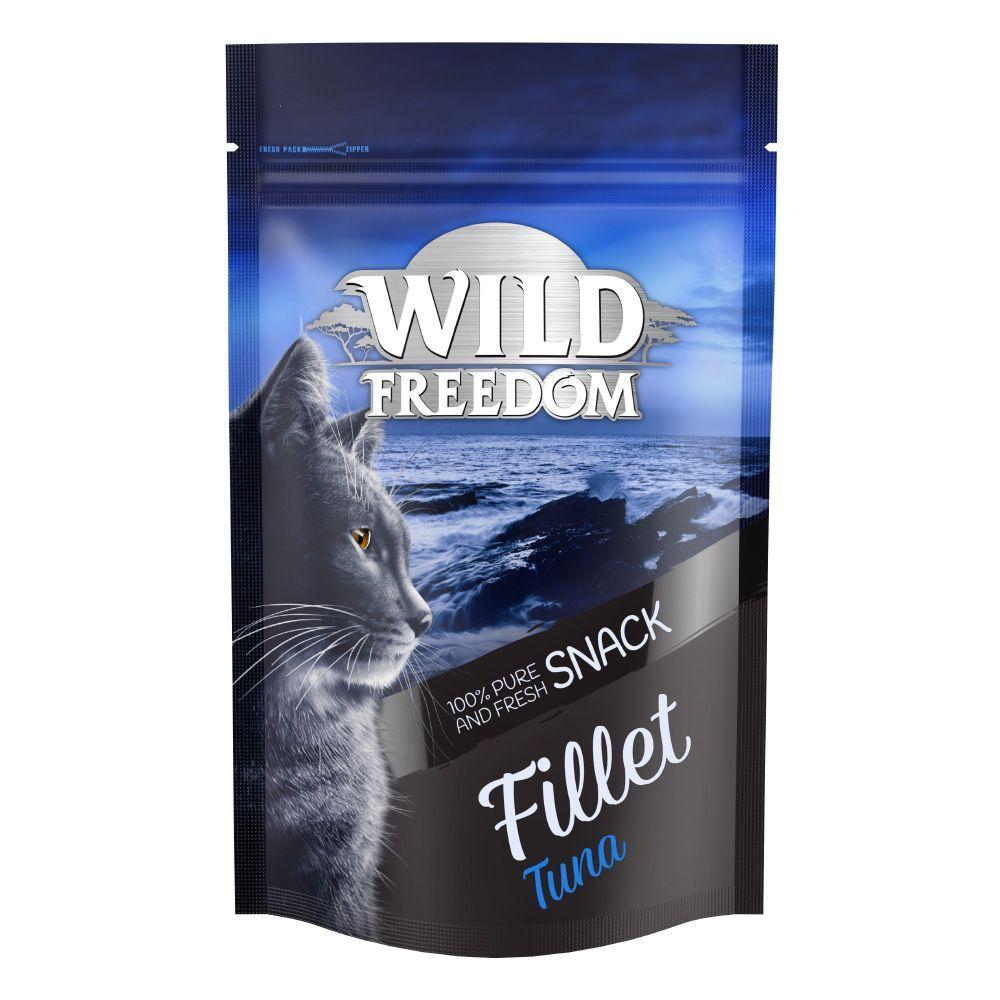Wild Freedom Filet Snacks Tuna - Ekonomipack: 2 x 100 g (12 filéer)