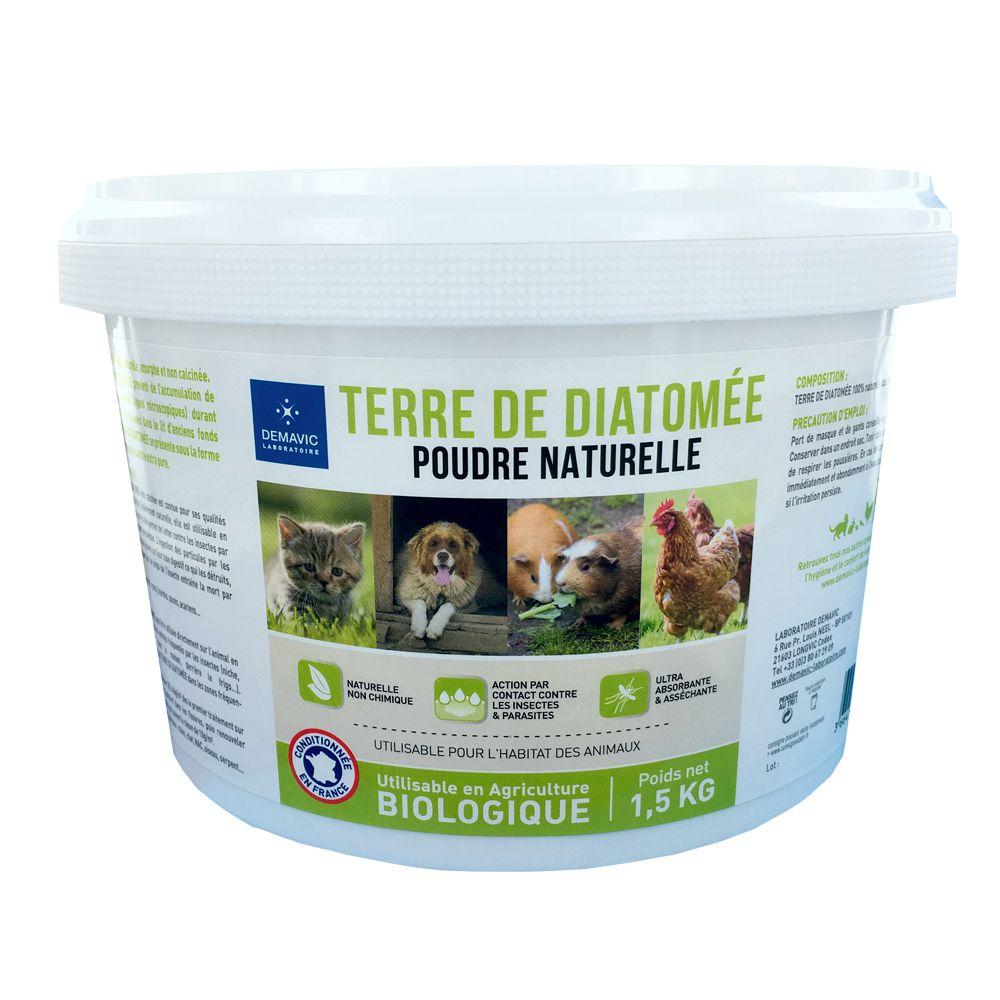 Demavic Diatomita contra insectos - 2,5 kg