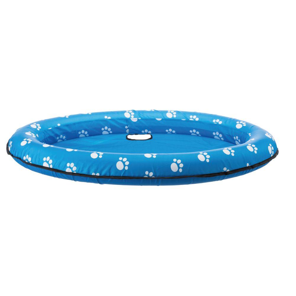 Trixie gummibåt - M-L: L 130 x B 90 cm, blå
