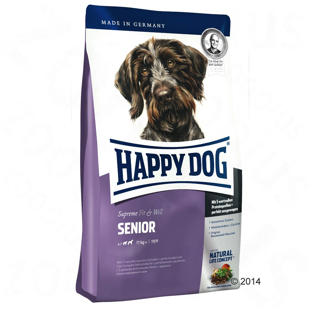 Happy Dog Supreme Fit & Well Senior - 2 x 12,5 kg