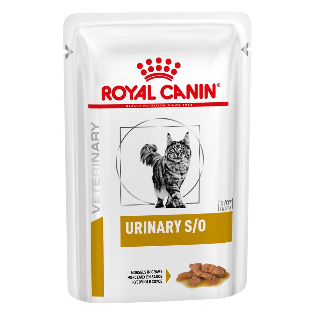 Urinary S/O Chicken Pouches Feline Royal Canin Veterinary Diet Wet Cat Food