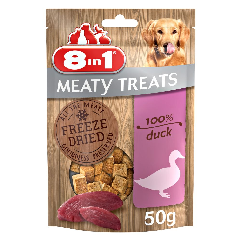 Bilde av 8in1 Meaty Treats - Andebryst (50 G)