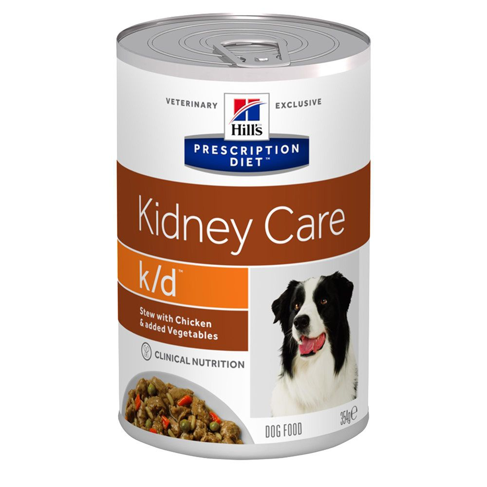 Chicken Stew Kidney Care k/d Canine Prescription Diet Hill's
