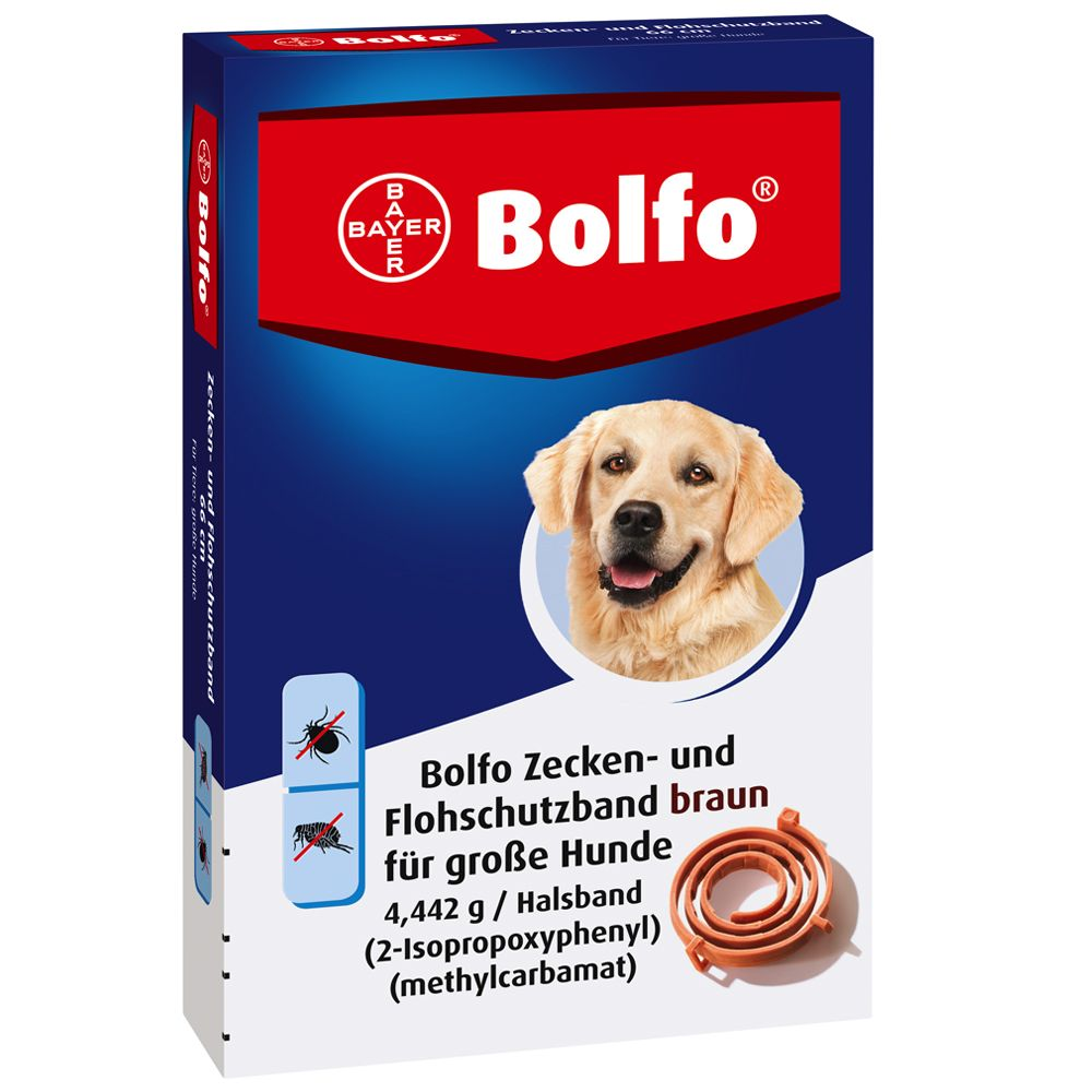 Bolfo® Zecken- und Flohschutzband 65 cm - 3 Stück