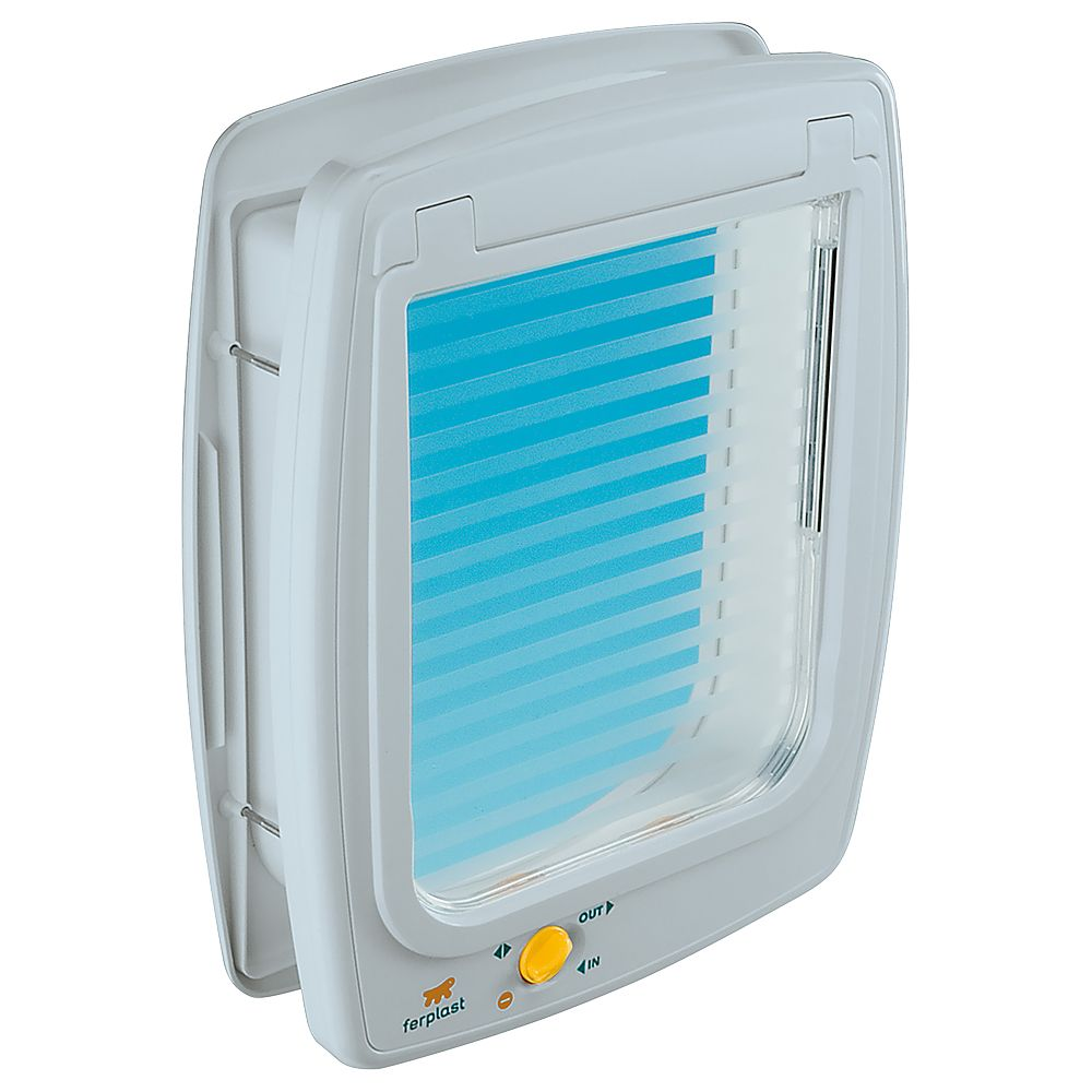 Ferplast Swing 11 4-Way Cat Flap White