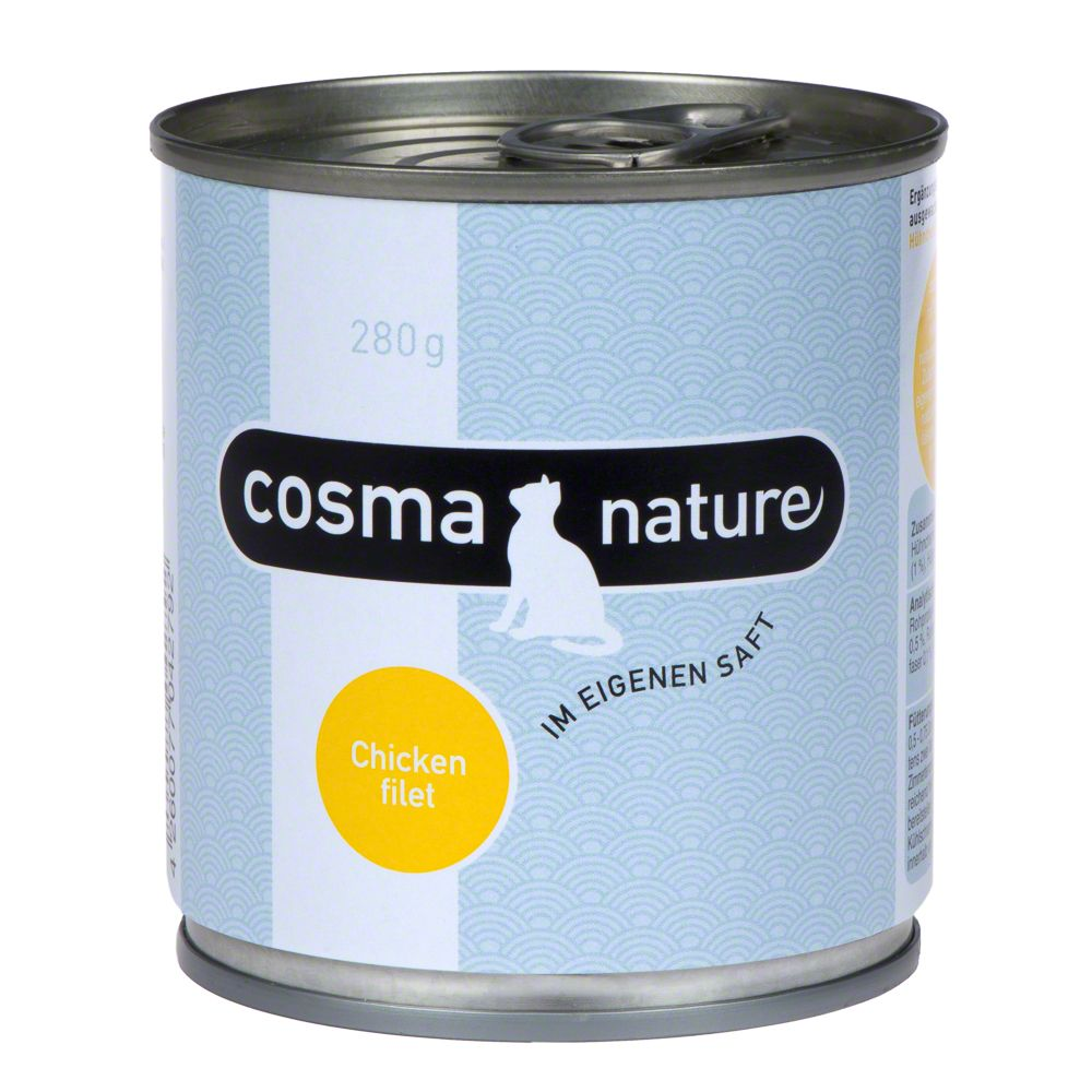 Image of Cosma Nature 6 x 280 g - Hühnchenfilet
