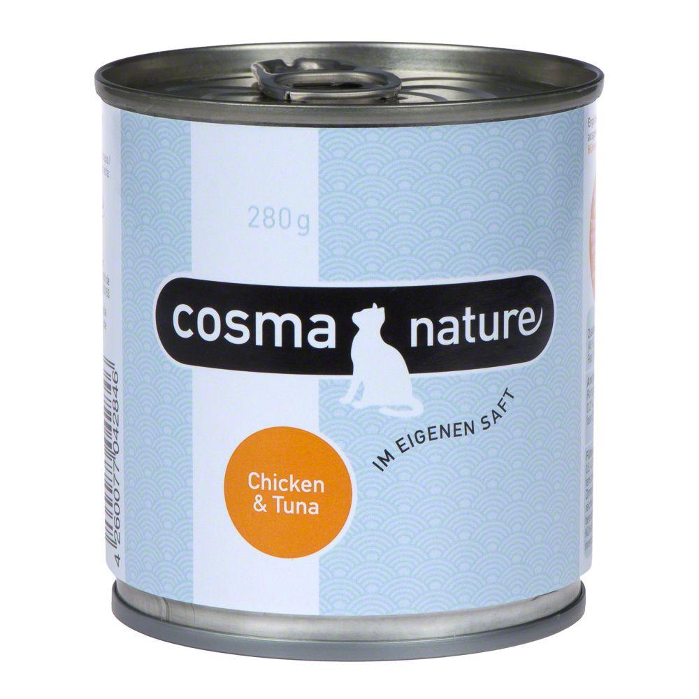 Cosma Nature 6 x 280 g - Kyckling & ost