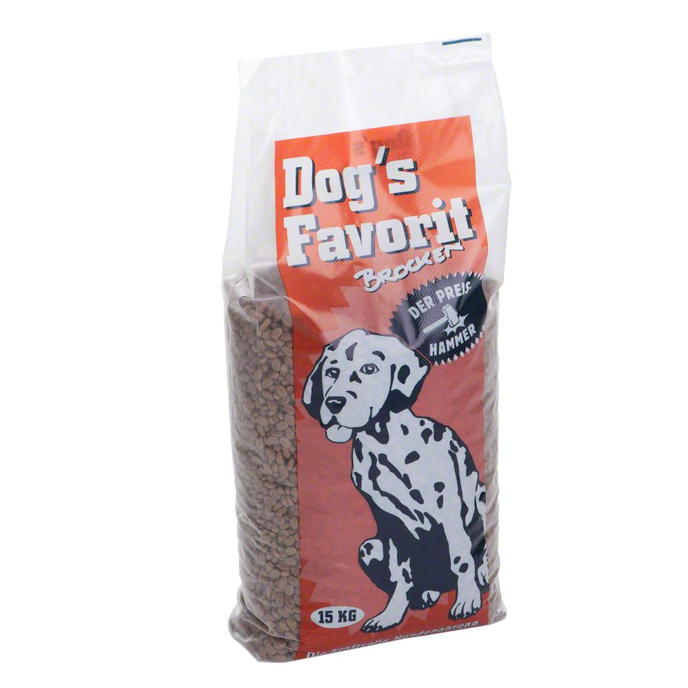 Dog´s Favorit Brocken - 15 kg