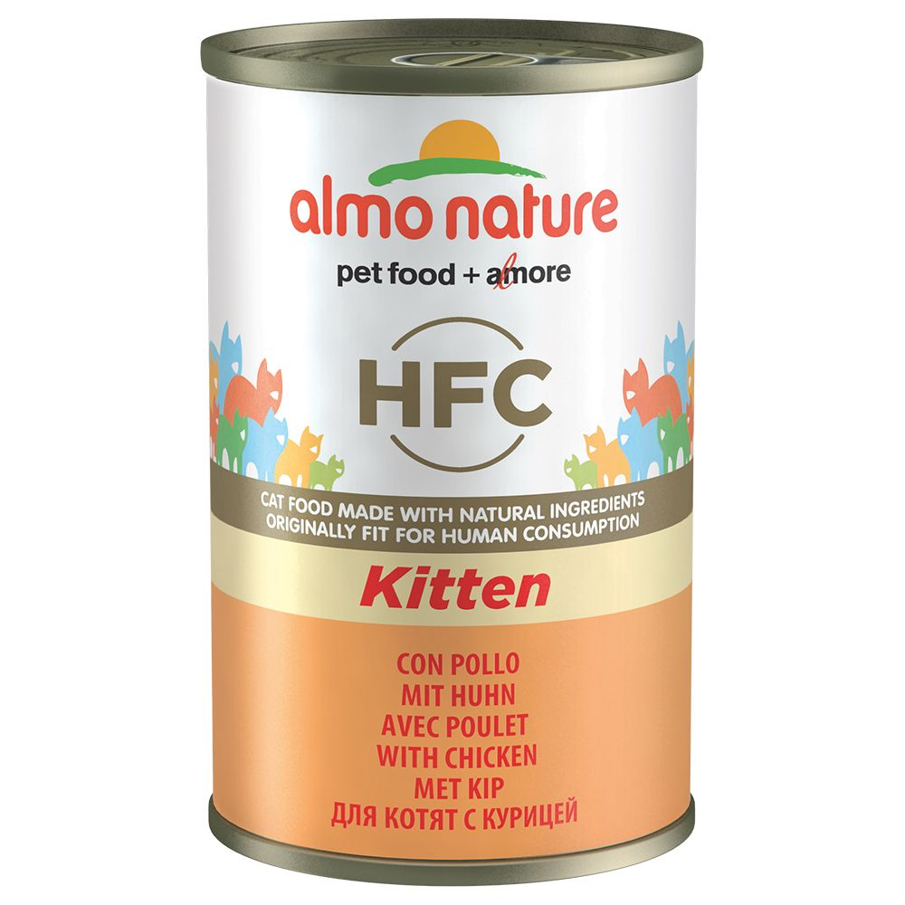 Almo Nature Classic HFC Kitten Huhn - 6 x 140 g